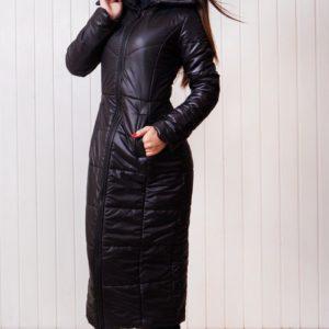Zimnjaja chernaja kurtka