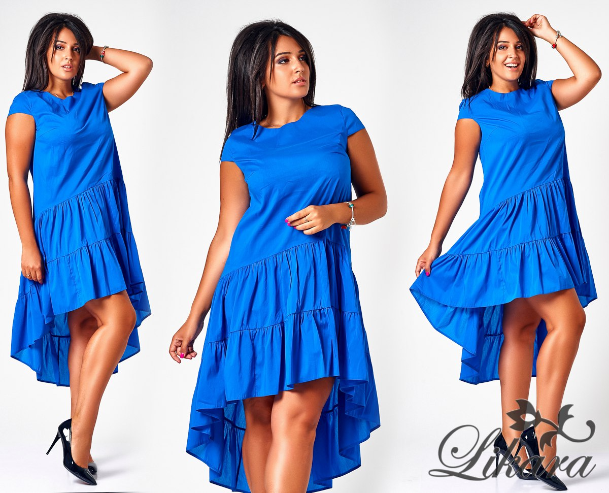Платье летнее с воланом 4