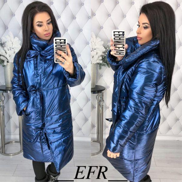куртка цвета металлик