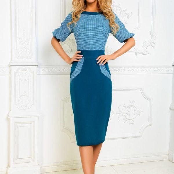 деловое строгое платье