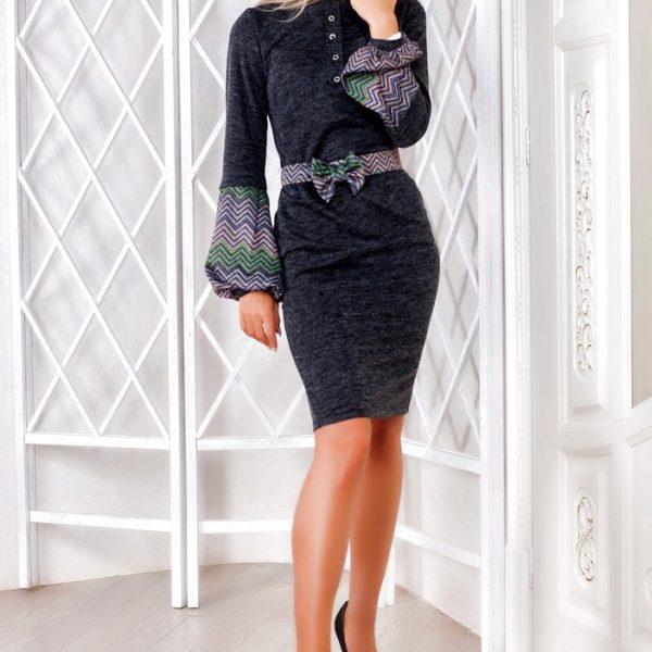 модное необычное платье