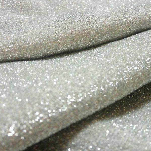 серебристая ткань