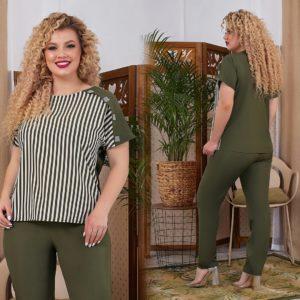b57199b5d17 Женские костюмы больших размеров - купить недорого с доставкой по ...