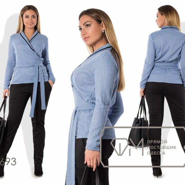 брюки женские с кардиганом