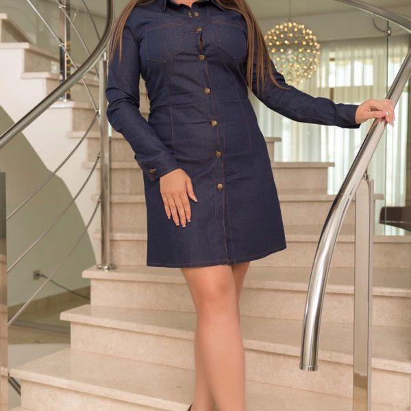 короткое джинсовое платье большие размеры