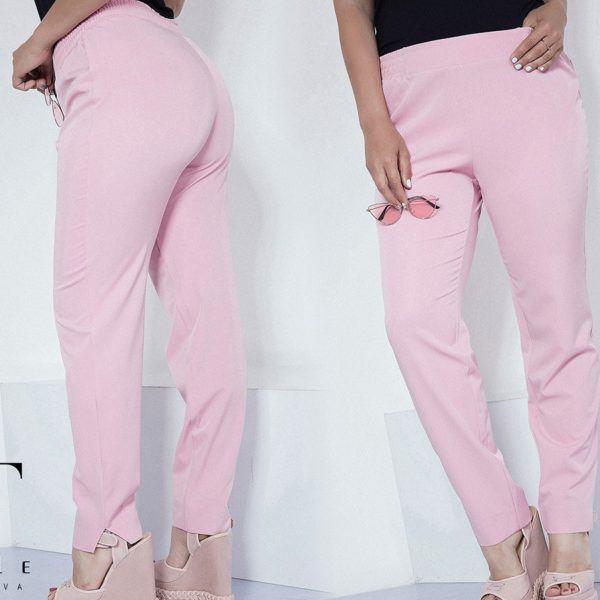 розовые женские брюки