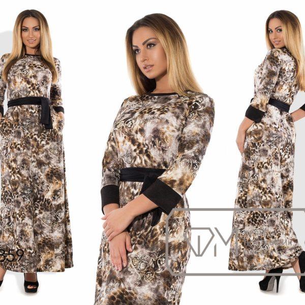 расклешенное длинное платье для полных женщин