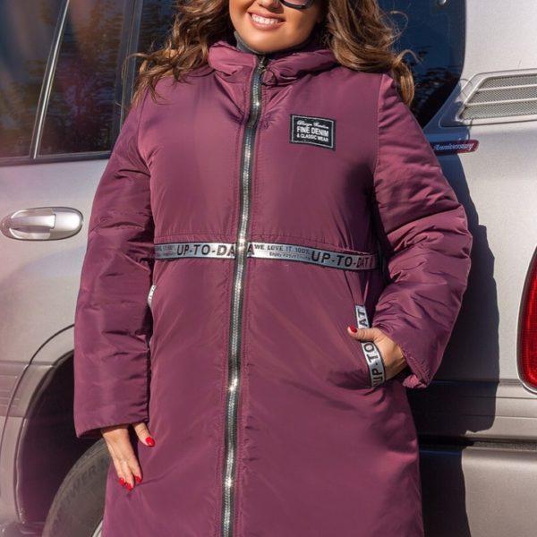 зимняя женская теплая куртка