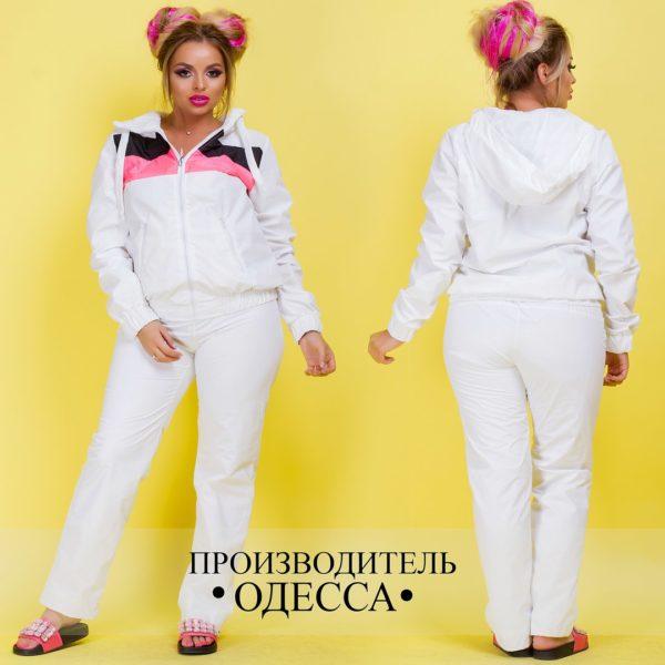 спортивный костюм белый большие размеры
