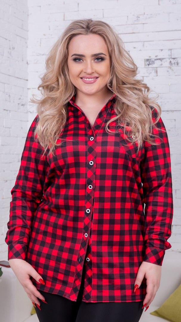 4e127dbf987 Удлиненная рубашка в клетку купить в интернет магазине Самая МоднаЯ