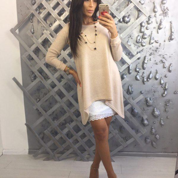 Красивое платье со съемной юбкой