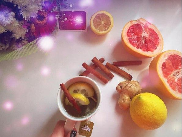 лимон с грейпфруктом