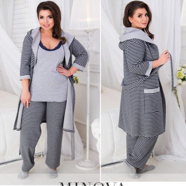 пижама женская большие размеры