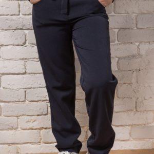 брюки для девочек синие