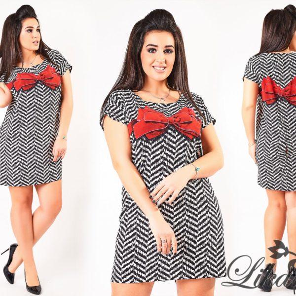 короткое платье из шелка