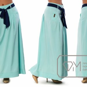 Летнее длинная юбка