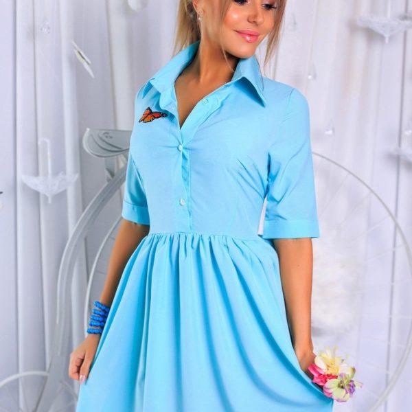 летнее легкое женское платье