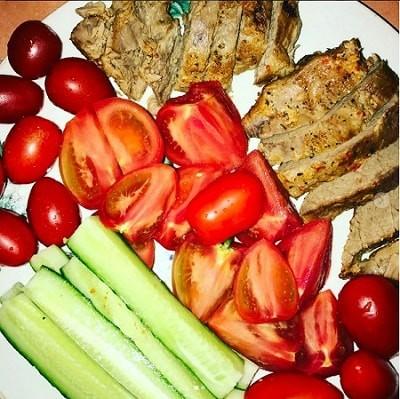 Похудение на мясе и овощях