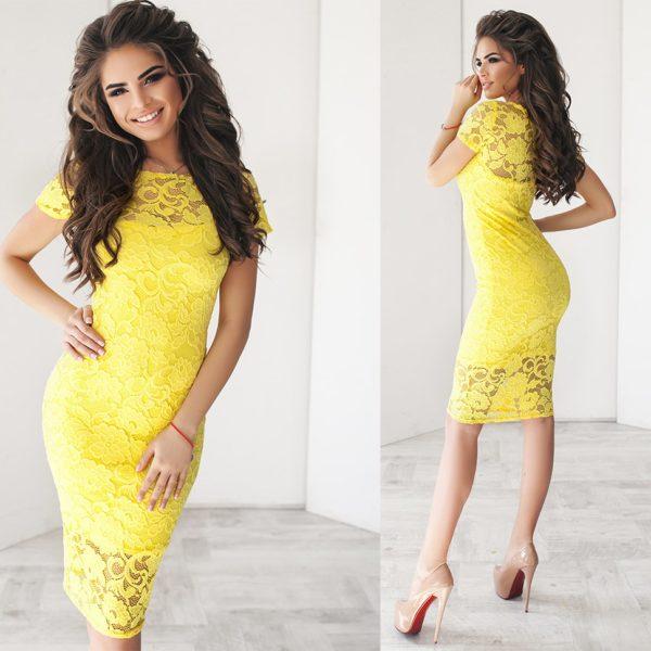 облегающее красивое платье