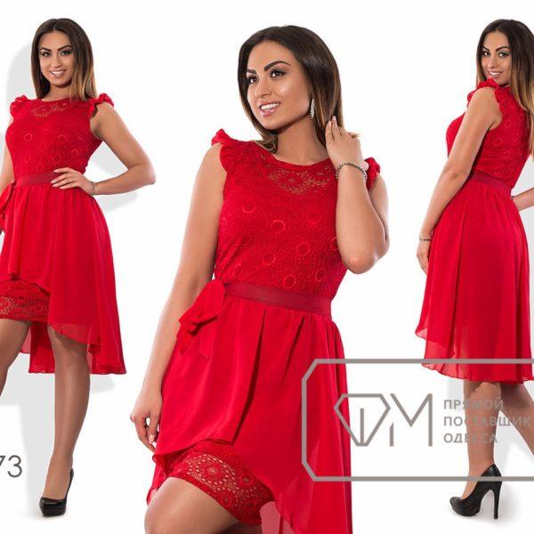 красное платье для праздника