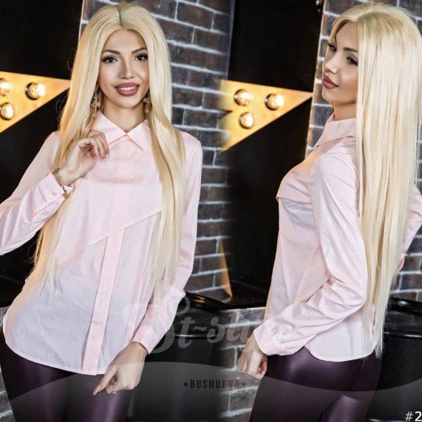 Рубашка женская с длинными рукавами