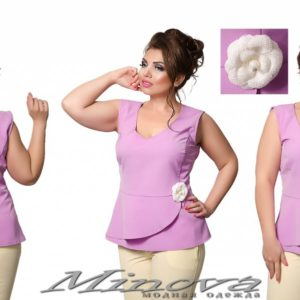 блуза без рукавов