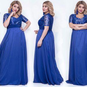 12868992e530c6a Купить вечерние платья больших размеров в интернет-магазине Самая-МоднаЯ