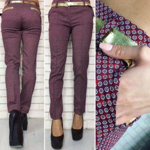 прямые женские классические брюки