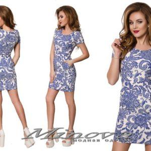 Облегающее короткое летнее платье
