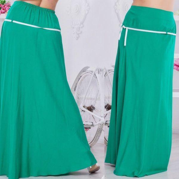 летняя длинная юбка