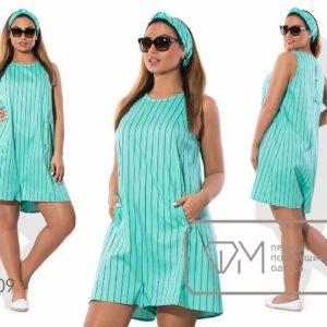 Платье- комбинезон летний