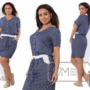 легкое летнее платье короткое