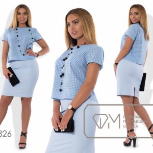 классическая юбка с блузкой