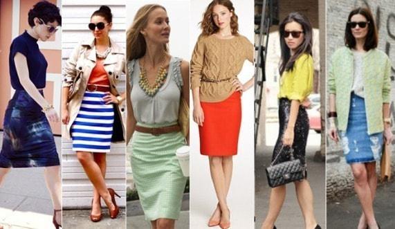 девушки в ярких юбках разного цвета