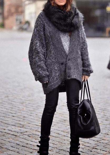 С чем носить женский кардиган: лучшая подборка луков