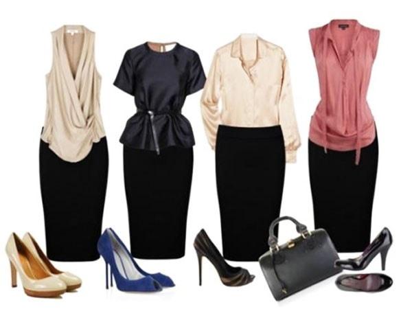 юбки строго стиля