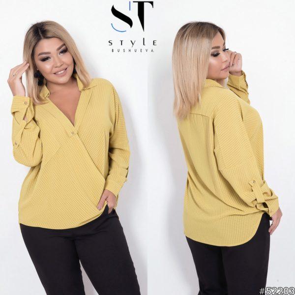 блузка женская большие размеры
