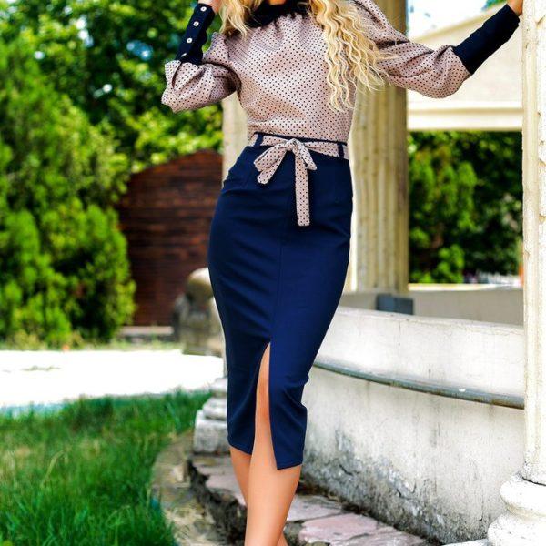 юбка карандаш с блузкой фото