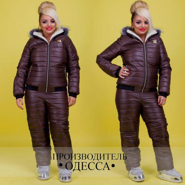 зимний костюм для женщин