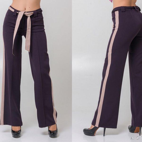 женские широкие брюки от бедра
