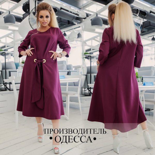 бордовое платье большие размеры