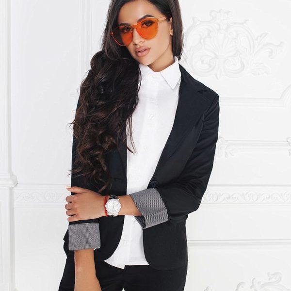 черный пиджак для офиса