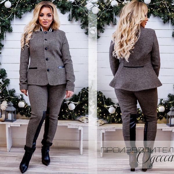 Женские с брюками с пиджаком