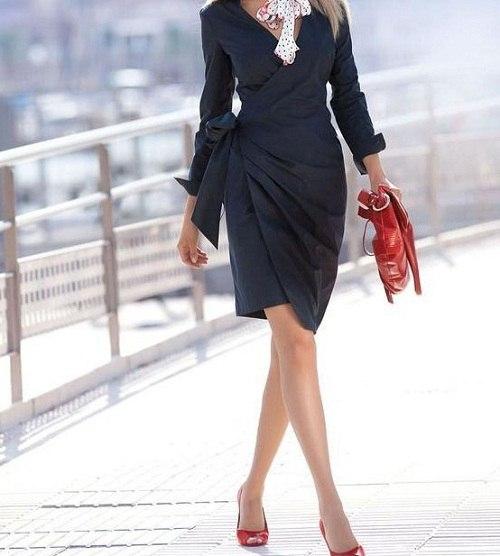 деловая стильная девушка