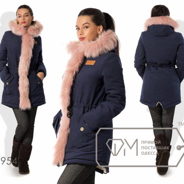 Теплая куртка-парка