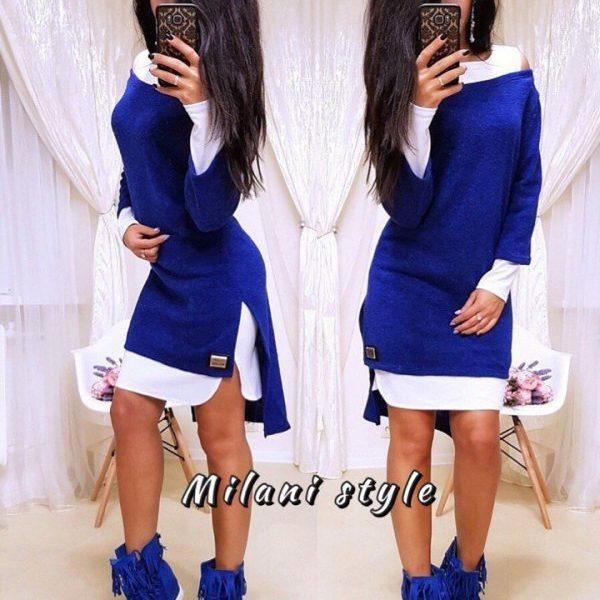 Платье удлиненное сзади короткое