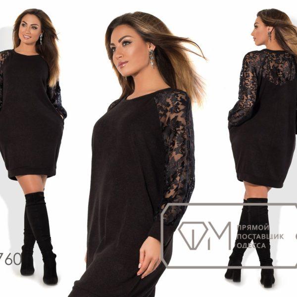 черное красивое теплое платье
