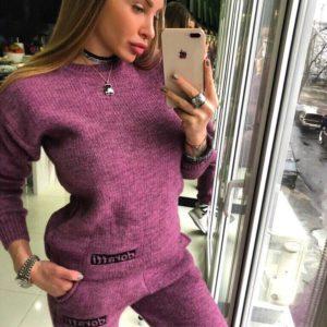 купить вязаные костюмы женские в интернет магазине недорого модные