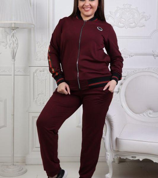 бордовый женский спортивный