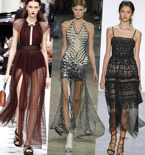 девушки модели в супер платьях